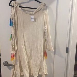 free people beach tunic - tags attached